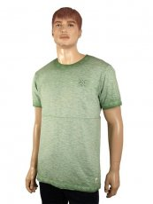 Rundhals-T-Shirt von Paddocks green Washer-Look