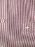 Jupiter Langarmhemd 2254 Millerayé bordeaux bügelfrei