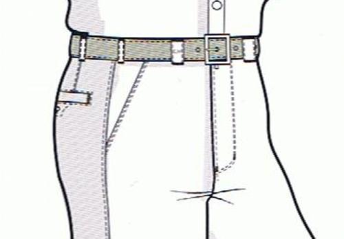 französische Taschenform
